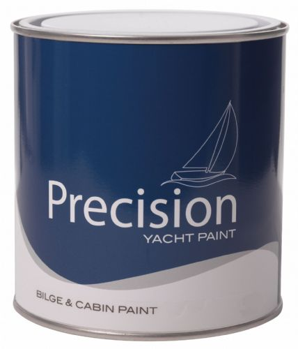 Precision BILGE and CABIN Paint White for Grp and Wood Paint 1Ltr
